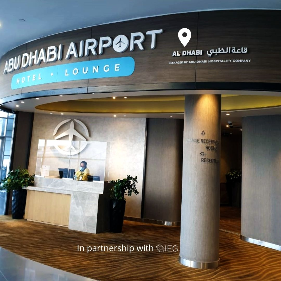 featured image: Welcome, Abu Dhabi International Airport!